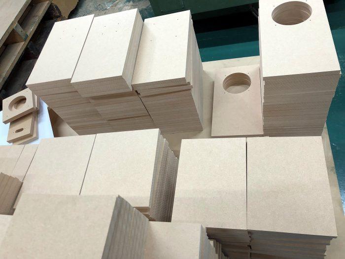 NC加工の木製品